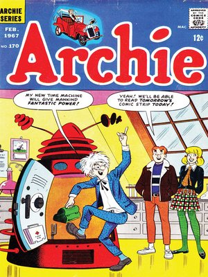 cover image of Archie (1960), Issue 170