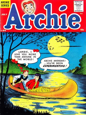 cover image of Archie (1960), Issue 93