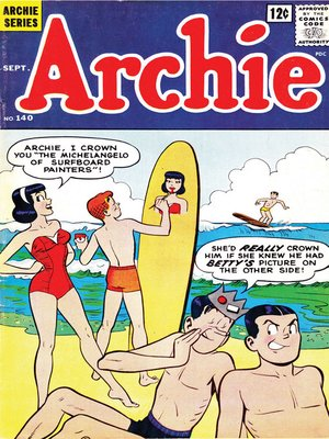 cover image of Archie (1960), Issue 140