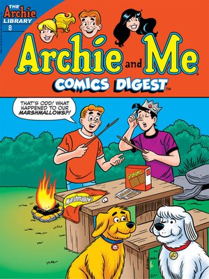 cover image of Archie & Me Comics Digest (2017), Issue 8