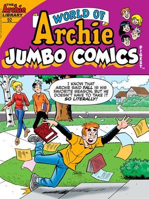 cover image of World of Archie Double Digest (2010), Issue 92