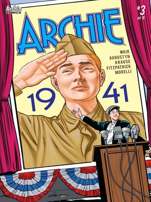 cover image of Archie: 1941 (2018), Issue 3