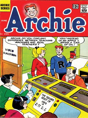 cover image of Archie (1960), Issue 155
