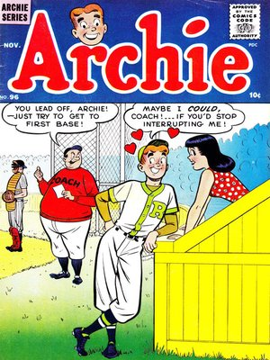 cover image of Archie (1960), Issue 96