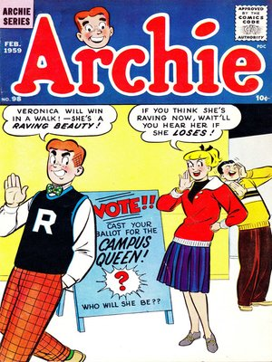 cover image of Archie (1960), Issue 98