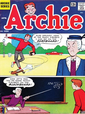 cover image of Archie (1960), Issue 154