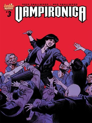 cover image of Vampironica (2018), Issue 3