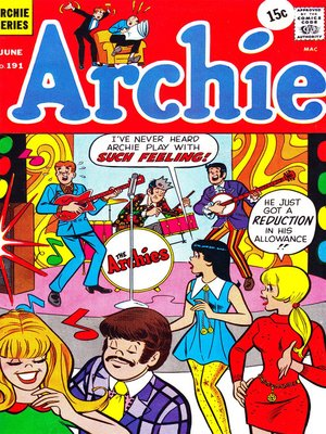 cover image of Archie (1960), Issue 191
