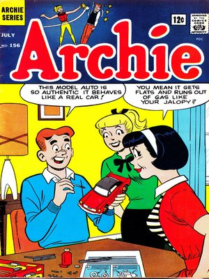 cover image of Archie (1960), Issue 156