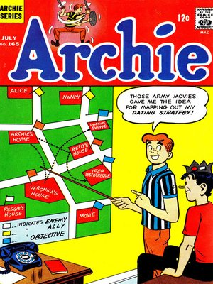 cover image of Archie (1960), Issue 165