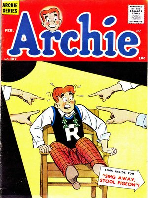 cover image of Archie (1960), Issue 107