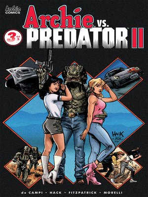 cover image of Archie vs Predator 2 (2019), Issue 3
