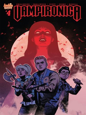 cover image of Vampironica (2018), Issue 4