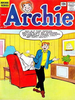 cover image of Archie (1960), Issue 147