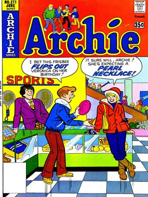 cover image of Archie (1960), Issue 271