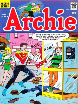 cover image of Archie (1960), Issue 168