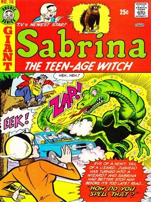 cover image of Sabrina the Teenage Witch (1971), Issue 16