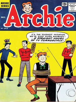 cover image of Archie (1960), Issue 142
