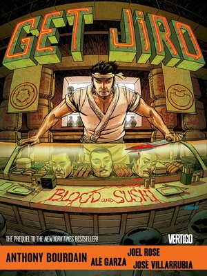 cover image of Get Jiro: Blood and Sushi