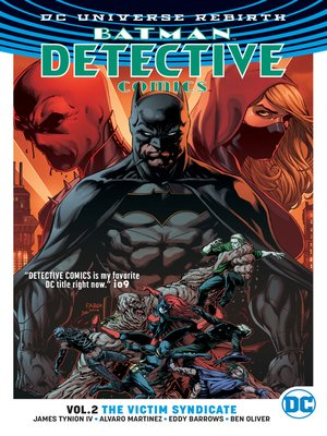 cover image of Detective Comics (2016), Volume 2