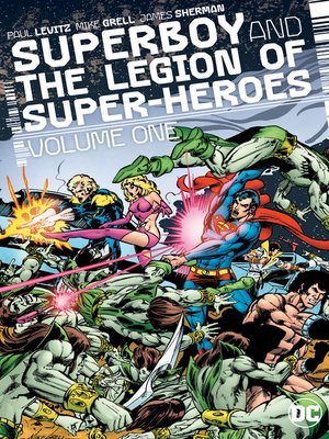 cover image of Superboy and the Legion of Super-Heroes (1977), Volume 1