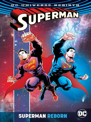 cover image of Superman Reborn