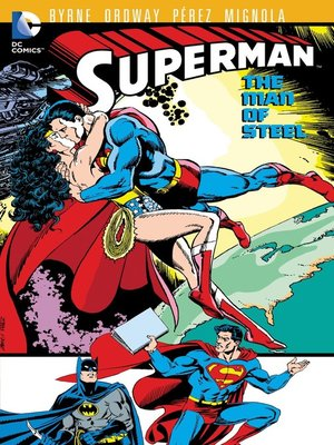 cover image of Superman: The Man of Steel, Volume 8
