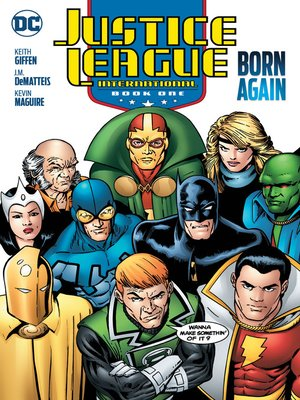 cover image of Justice League International (1987), Book One