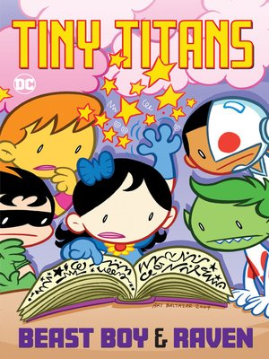 cover image of Tiny Titans: Beast Boy & Raven