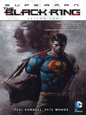 cover image of Superman: The Black Ring, Volume 2