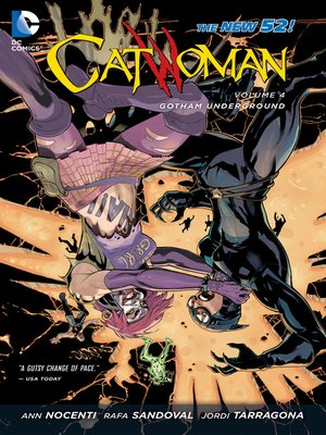 cover image of Catwoman (2011), Volume 4