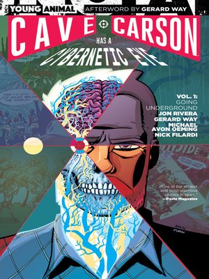 cover image of Cave Carson Has a Cybernetic Eye (2016), Volume 1