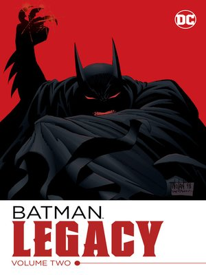Batman Legacy Volume 2 By Chuck Dixon Overdrive Rakuten