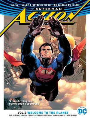 cover image of Action Comics (2016), Volume 2