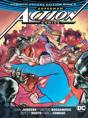 cover image of Action Comics (2016): The Rebirth, Book 3