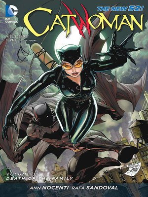 cover image of Catwoman (2011), Volume 3