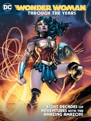 cover image of Wonder Woman Through the Years