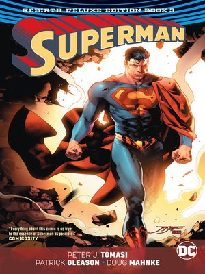 cover image of Superman (2016): The Rebirth, Book 3