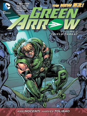 cover image of Green Arrow (2011), Volume 2