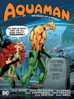 cover image of Aquaman: The Death of a Prince