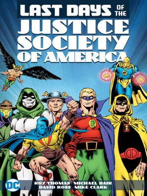 cover image of Last Days of the Justice Society of America