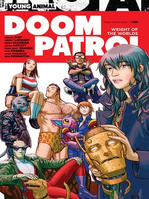 cover image of Doom Patrol: Weight of the Worlds