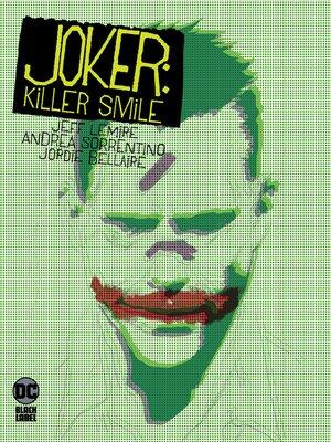 cover image of Joker: Killer Smile