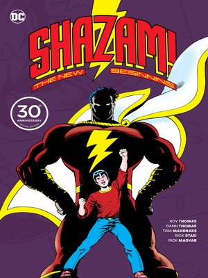 cover image of Shazam: A New Beginning