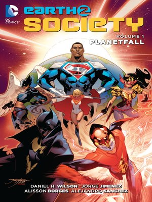 cover image of Earth 2: Society (2015), Volume 1