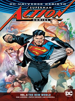 cover image of Action Comics (2016), Volume 4