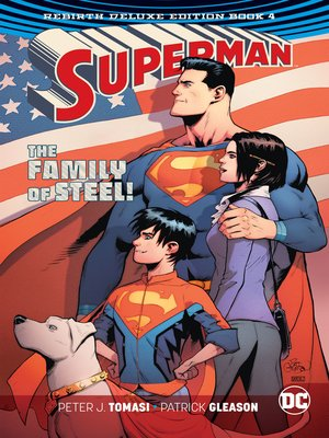 cover image of Superman (2016): The Rebirth, Book 4