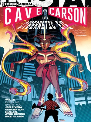cover image of Cave Carson Has a Cybernetic Eye (2016), Volume 2
