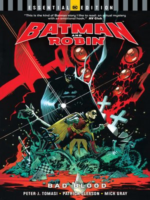 cover image of Batman and Robin: Bad Blood