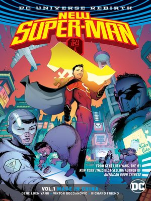 cover image of New Super-Man (2016), Volume 1